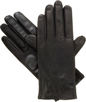 Isotoner Stretch Leather Glove with smarTouch Technology