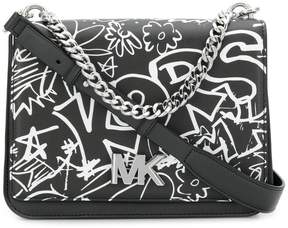 MICHAEL Michael Kors graffiti shoulder bag