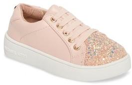 MICHAEL Michael Kors Toddler Girl's Ivy Luke Glitter Cap Toe Sneaker