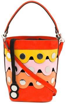 Pierre Hardy scalloped bucket bag
