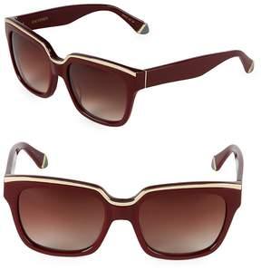 Zac Posen Women's 56MM Square Sunglasses