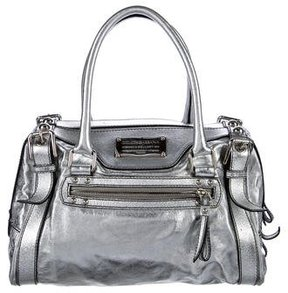 Dolce & Gabbana Metallic Leather Satchel - METALLIC - STYLE