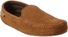 BearPaw Men's Peeta Suede & Wool Slipper