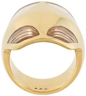 A.P.C. 'Mastic' ring