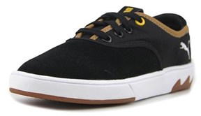 Puma Funist Lo Nm Jr Youth Synthetic Black Fashion Sneakers.