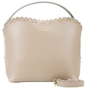 Class Roberto Cavalli Taupe Bucket Bag Leolace 007.