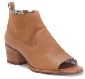 ED Ellen Degeneres Traison Leather Booties
