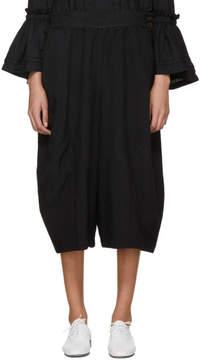 Comme des Garcons Black Suspender Trousers
