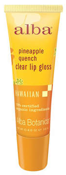 Pineapple Quench Clear Lip Gloss by Alba Botanica (0.42oz Lip Gloss)