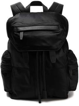 Alexander Wang Leather-Trimmed Satin-Twill Backpack