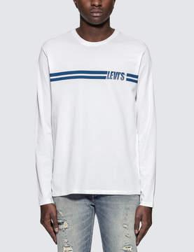 Levi's Stripe Logo L/S T-Shirt