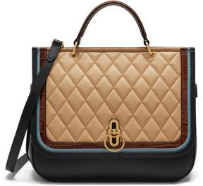 Mulberry Amberley Quilted Calfskin Leather Satchel