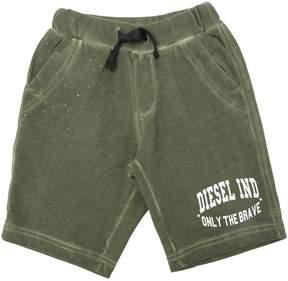Diesel Cotton Sweat Shorts