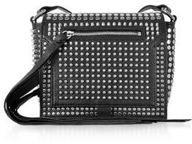 McQ Women's Black Leather Shoulder Bag.
