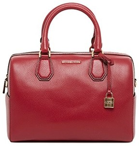 Michael Kors Mercer Medium Satchel - CHERRY - STYLE