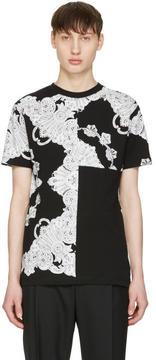 McQ Black Phoenix Paisley T-Shirt