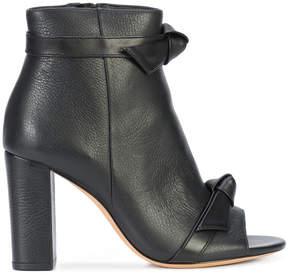 Alexandre Birman open toe bow boots