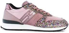 Hogan glitter sneakers