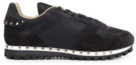 Valentino Men's Qy2s0952nyn0ge Black Leather Sneakers.