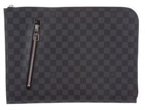 Louis Vuitton Damier Graphite Poche Documents