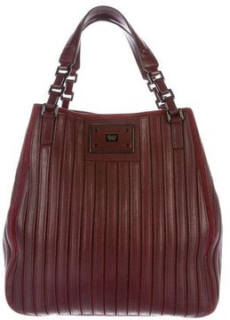 Anya Hindmarch Paneled Leather Satchel