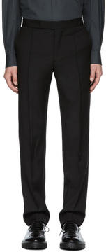 Yang Li Black Slim Tailored Trousers