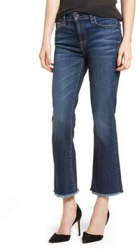 7 For All Mankind Crop Bootcut Jeans