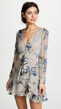 For Love & Lemons Cleo Floral Party Dress