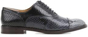 Marc Jacobs Women's Black Leather Lace-up Shoes.