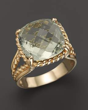 Bloomingdale's 14K Yellow Gold Green Amethyst Ring - 100% Exclusive