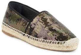 Marc Jacobs Sienna Sequined Espadrille Flats