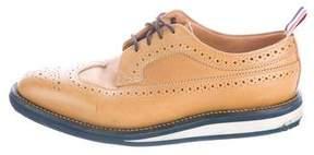 Thom Browne Leather Wingtip Brogues