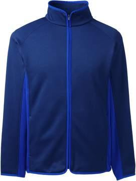 Lands' End Lands'end Men's Textured Performance Fleece Jacket