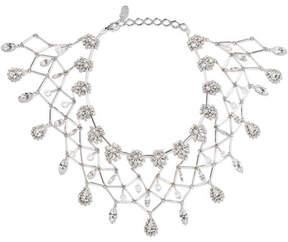 Erickson Beamon Paper Cranes Silver-tone Crystal Necklace