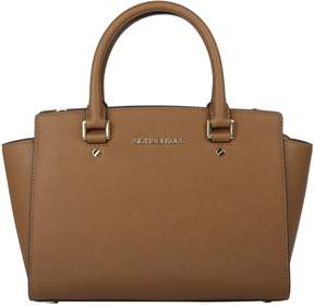 Michael Kors Satchel Handbag - LUGGAGE - STYLE