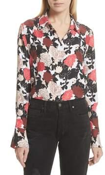 Equipment Daphne Floral Silk Shirt