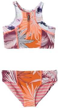 Maaji Kids Tangerine Turtoise Bikini Girl's Swimwear Sets