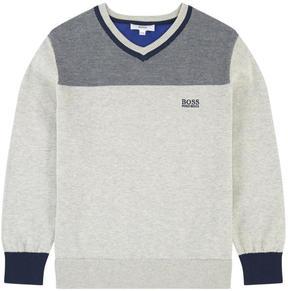 BOSS V-necked sweater