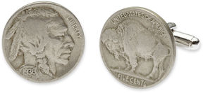 Asstd National Brand Buffalo Nickel Cuff Links