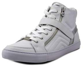 G by Guess Ojay Women Round Toe Synthetic White Sneakers.