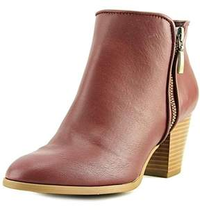 Style&Co. Style & Co Jamila Women Round Toe Synthetic Burgundy Ankle Boot.