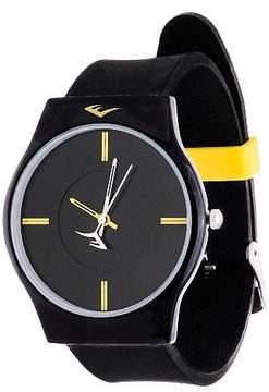 Everlast Soft Touch Rubber Strap Watch - Black