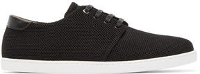 WANT Les Essentiels Black Mesh Sneakers