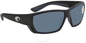 Costa del Mar Tuna Alley Grey Large Fit Sunglasses