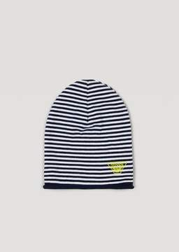 Armani Junior Striped Knitted Hat