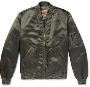 Missoni Shell Bomber Jacket