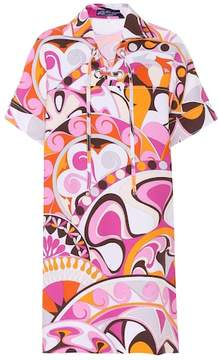 Emilio Pucci Printed cotton dress