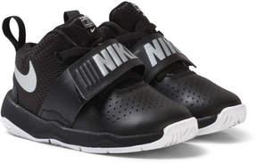 Nike Black Team Hustle D 8 Toddler Shoes