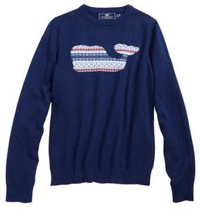 Vineyard Vines Boy's Whale Isle Intarsia Sweater