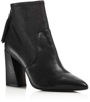 Kenneth Cole Gracelyn Leather High Heel Booties